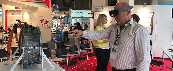 Virtual reality – ny stark trend på Automechanica