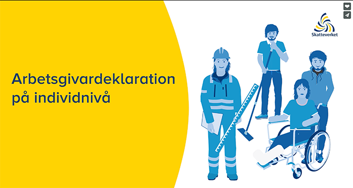 Nytt sätt att redovisa arbetsgivardeklaration på individnivå