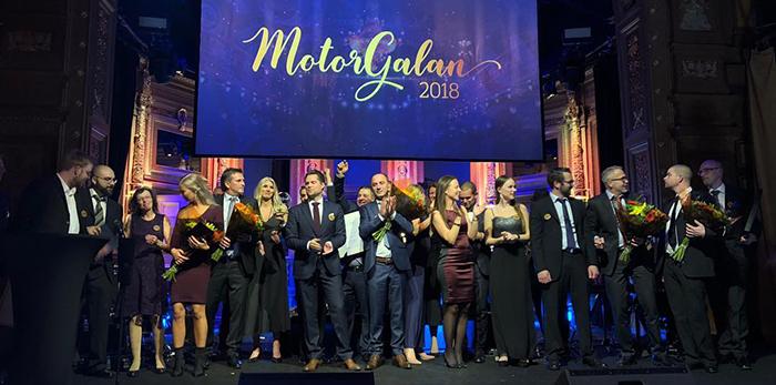Vinnarna av Motorgalan 2018
