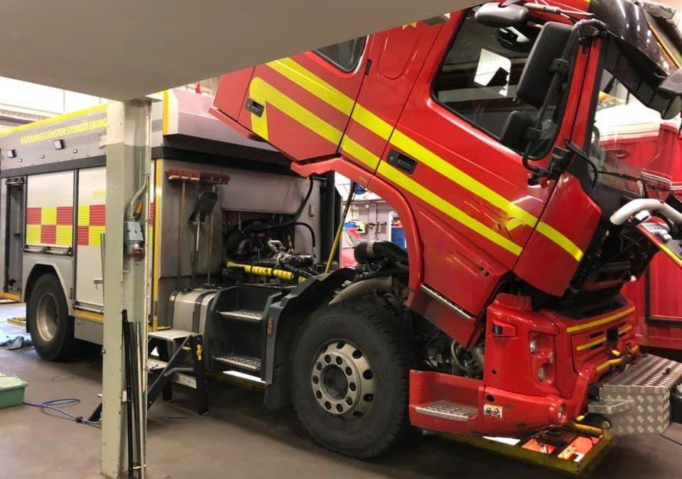 Det kom en fråga till SFVF från en Räddningsledare hos Brandkåren