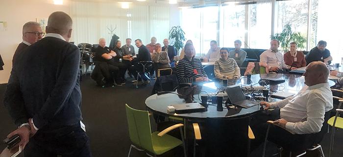 Fullt hus hos NEVS när Sveriges Fordonsverkstäders Förening bjöd in till samtal!