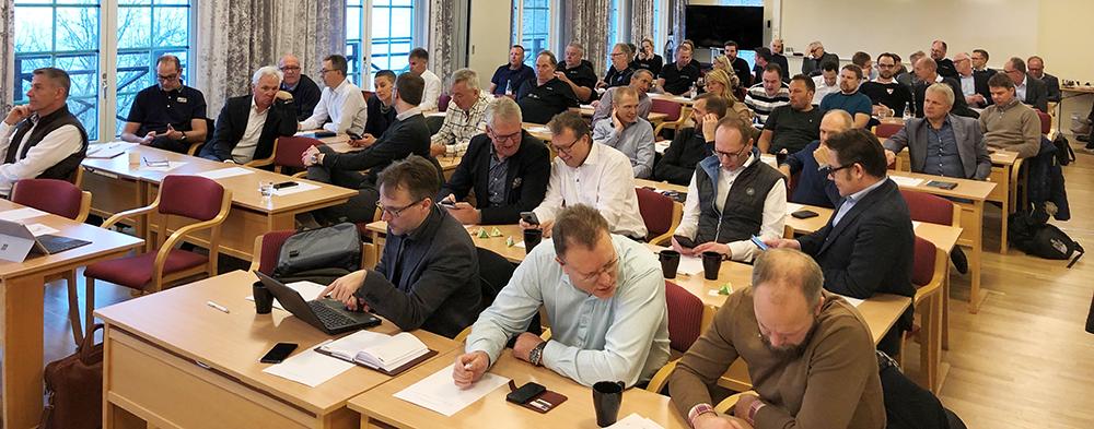 Bransch och årsmöte med Husvagnsbranschens Riksförbund och Sveriges Fordonsverkstäders Förening